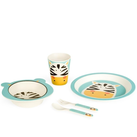 BB102-4 Set za jelo Zebra