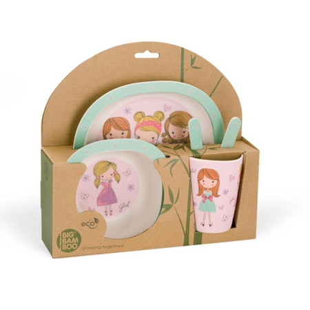 BB103-1 Fashion Girl lunch set 4