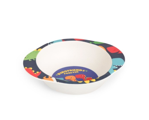 BB204-1 Dinosaur Bowl with Grippy Base 1