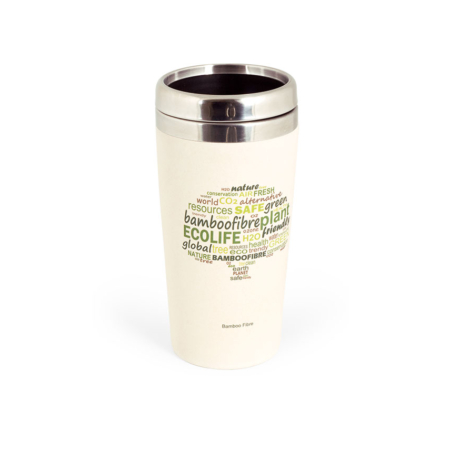 BB306-1 BigBamBoo Eco Go Thermos Bamboo Cup 500 ml