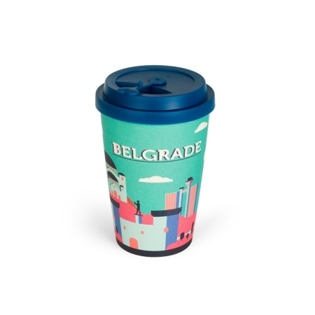 BB314 - Solja od bambusa 500ml Belgrade city shapes