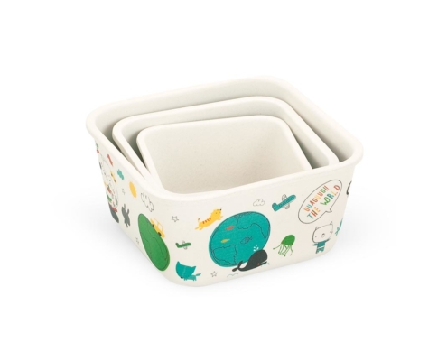 BB402-1 3-in-1 Bamboo Container Set 2