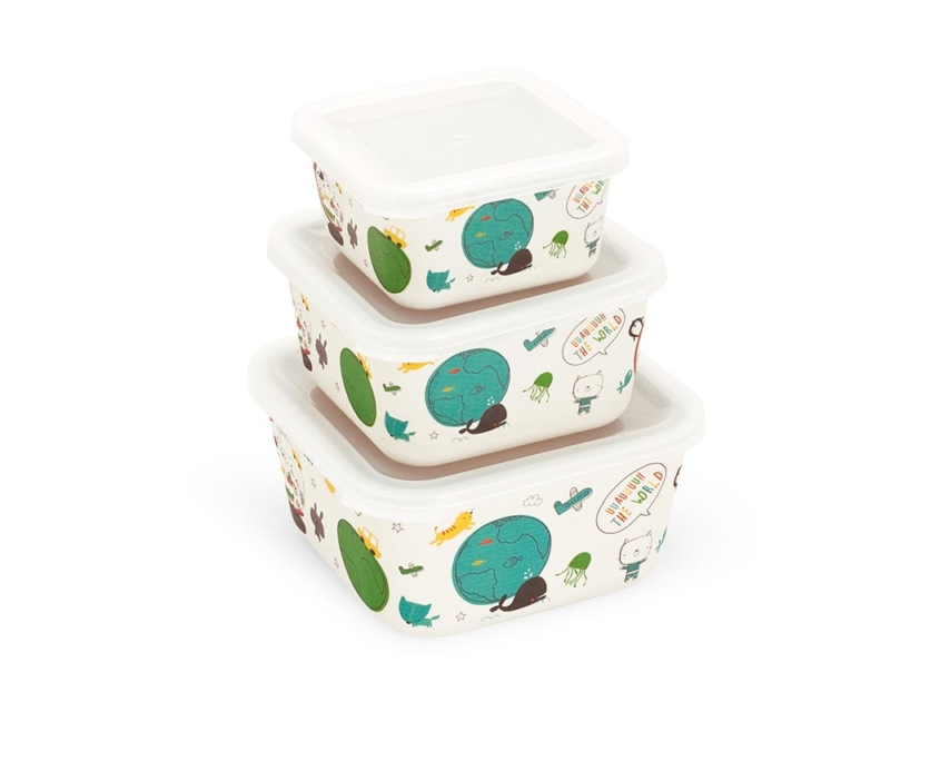 BB402-1 3-in-1 Bamboo Container Set 4