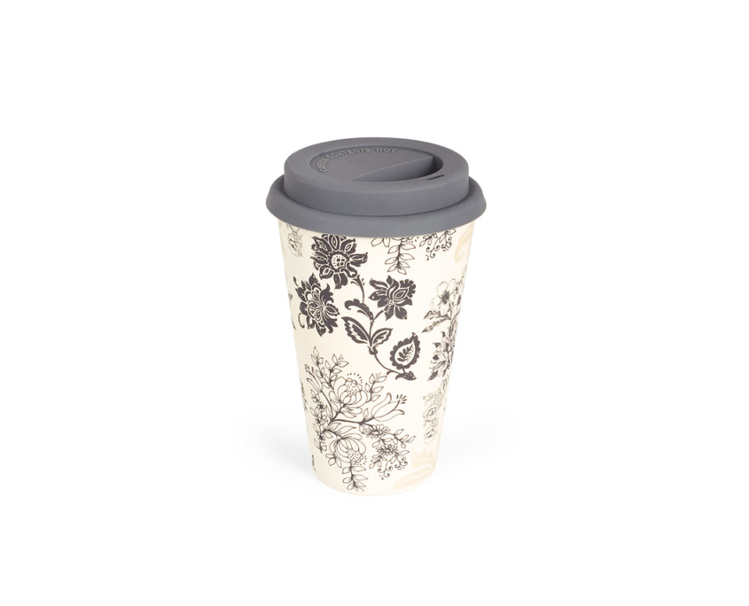 BBB304-1 BigBamBoo - Black & Grey To Go Bamboo Cup 400 ml 03