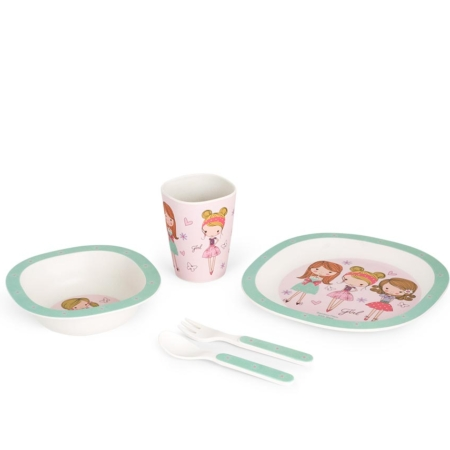 BB103-1 Set za jelo Fashion Girl